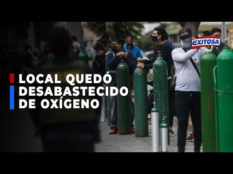 Alertan que local de fallecido Ángel del Oxígeno de SJM quedó desabastecido