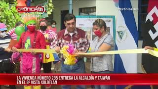 Familia de Vista Xolotlán pasará un invierno seguro con su vivienda digna - Nicaragua