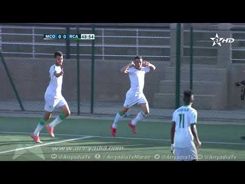 مولودية وجدة 1-0 الرجاء البيضاوي هدف توفيق إيجروتن