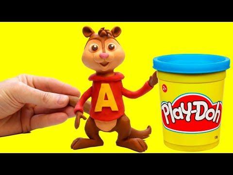 connectYoutube - Alvin and The Chipmunks Stop motion cartoon Alvin y las ardillas funny video