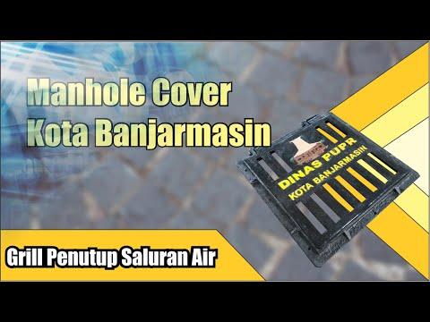 Grill Cover Drainase | DPUPR Banjarmasin