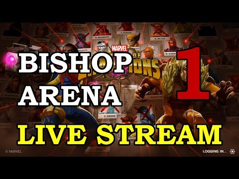 connectYoutube - Bishop Arena - Part 1 | Marvel Contest of Champions Live Stream
