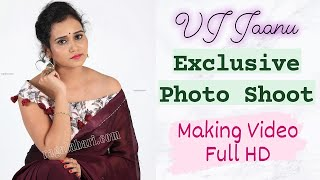 VJ Jaanu l Exclusive Photo Shoot Making Video Full HD | Ragalahari - RAGALAHARIPHOTOSHOOT