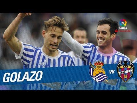 Golazo de Canales (3-0) Real Sociedad vs Levante UD