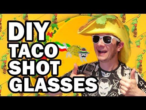 connectYoutube - DIY Taco Shot Glasses - Man Vs Corinne Vs Pin