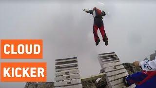 Insane BASE Jump Through the Clouds