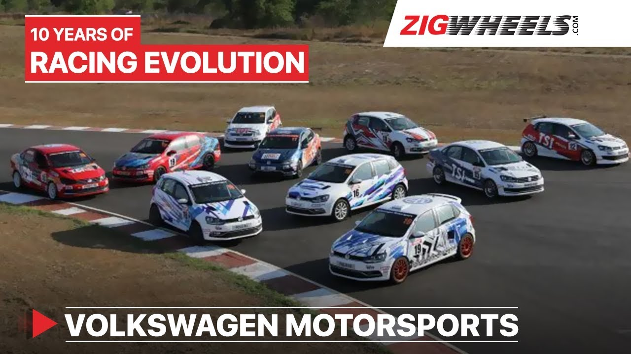 Driving 10 Years Of Racing Evolution | Volkswagen Motorsports | ZigWheels.com