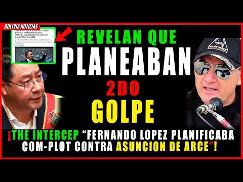 ¡REVE-L4N AUDIOS! FERNANDO LOPEZ PLANEABA UN COMPLOT CONTR4 ASUNCION DE ARCE. SEGUNDO GOL-PE