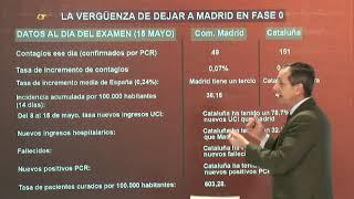 CARLOS CUESTA DEJA EN RIDÍCULO A SÁNCHEZ: TIENES MUY POCA VERGÜENZA DEJANDO MADRID EN LA FASE 0