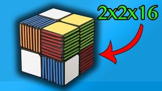 Cubic 2x2x16 - NK Cubed