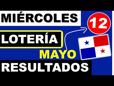 Resultados Sorteo Loteria Miercoles 12 de Mayo 2021 Loteria Nacional de Panama Miercolito Que Jugo