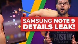 Samsung Galaxy Note 9 details leak, new Google Maps arrives (Alphabet City)