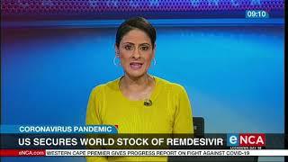 The US buys Remdesivir stock   COVID-19