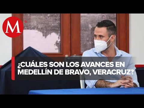 Alcalde de Medellín de Bravo, Veracruz; destaca logros en infraestructura