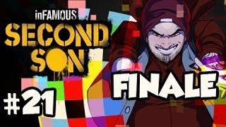 EVIL ENDING FINALE - Infamous Second Son Walkthrough Evil w/ Nova Ep.21