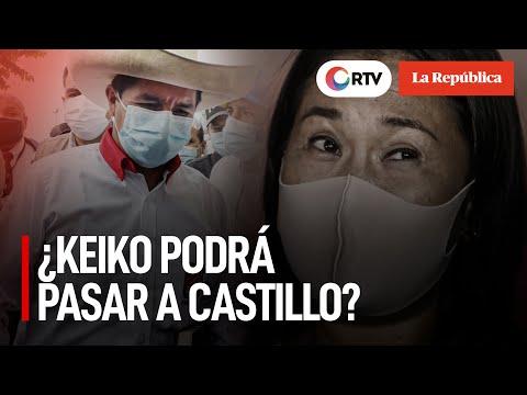 Elecciones 2021: ¿Keiko Fujimori podrá pasar a Pedro Castillo