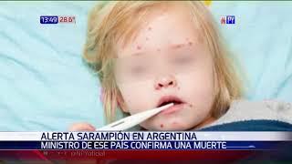 Sarampión mata a paciente en Argentina y amenaza con ingresar a Paraguay