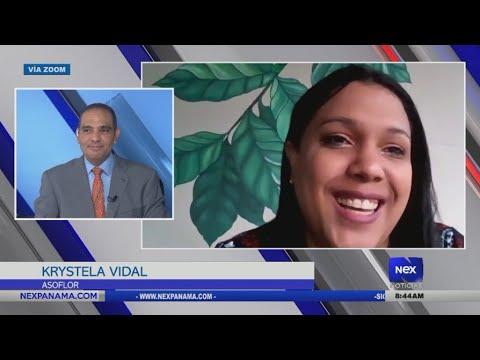Entrevista a Krystela Vidal, miembro de la Asociación de Floristerías en Panamá