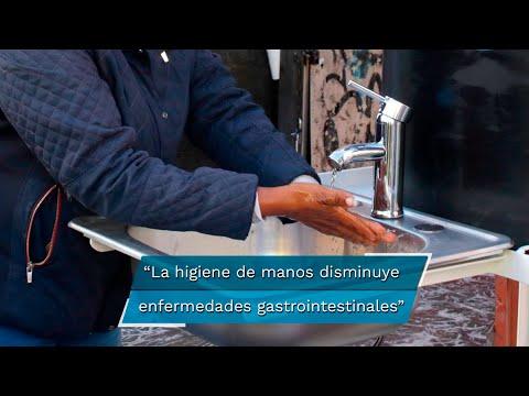 Salud. El lavado constante de manos ayuda a disminuir enfermedades gastrointestinales