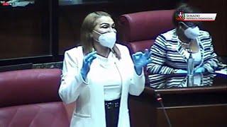 """Sonia Mateo llama """"indolente"""" al presidente en funciones del Senado, Arístides Victoria Yeb"""