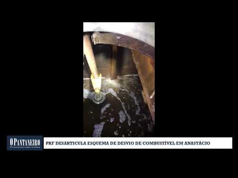 PRF desarticula esquema de desvio de combustível em Anastácio