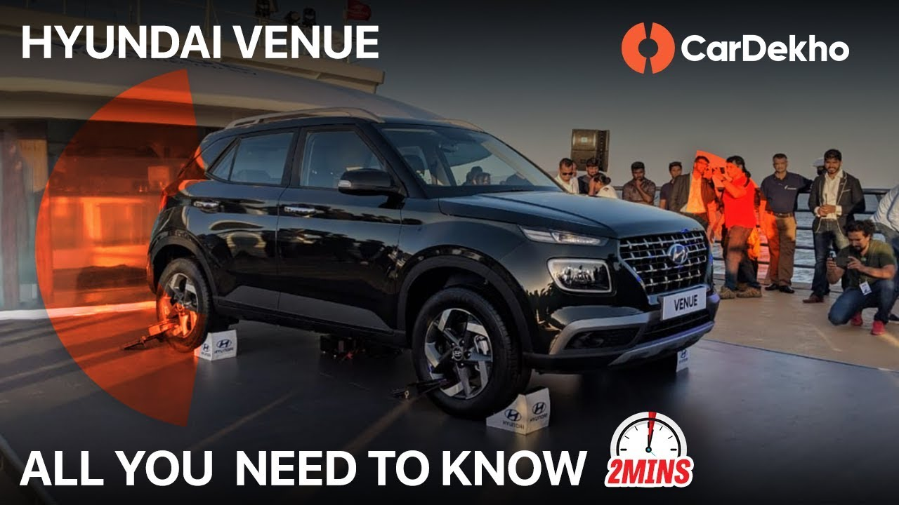 Hyundai Venue | All you need to know | Launch date, Price, Features, Specs and Variants| CarDekho
