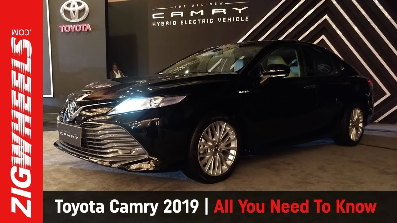 Toyota Camry Hybrid 2019 Walkaround: Launched at Rs 36.95 lakh