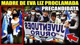 Proclaman a expareja de Evo como precandidata a la Gobernación de Oruro