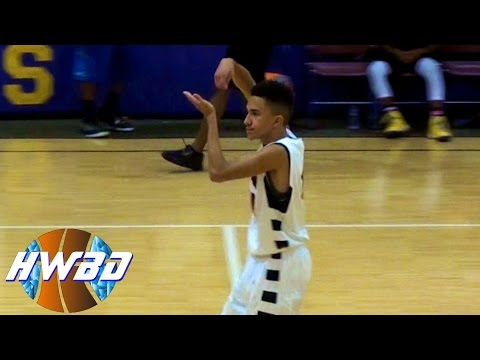 David Dennis Jr. is a Lefty with GAME!! - OFFICIAL Senior Season ... Jeremy Lin Dunk In Middle School