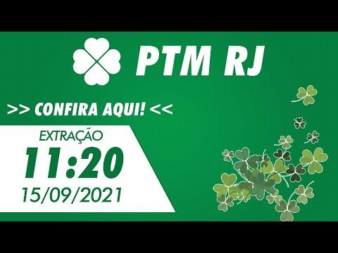 Resultado do Jogo do Bicho PT Rio 11:20 – Resultado da PTM Rio 15/09/2021