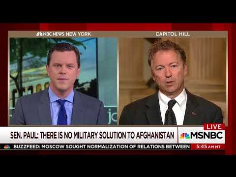 Sen. Rand Paul on AUMF Amendment and Foreign Policy - Sept. 13, 2017