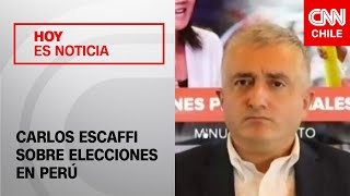 Carlos Escaffi analiza el proceso de elecciones presidenciales en Peru?