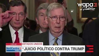 Juicio político contra Trump podría comenzar la próxima semana