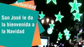 San José le da la bienvenida a la Navidad este 1 de diciembre