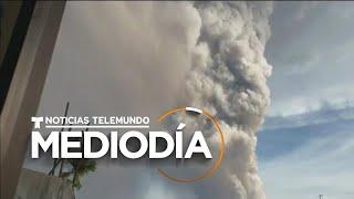 Miles de habitantes en Filipinas son evacuados por actividad volcánica   Noticias Telemundo