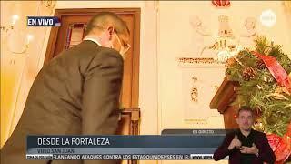 Pedro Pierluisi llega a La Fortaleza