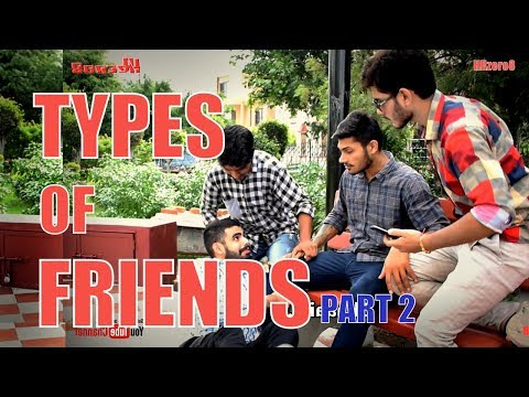 connectYoutube - Types of Friends Part 2 | Funny | | HRzero8 |