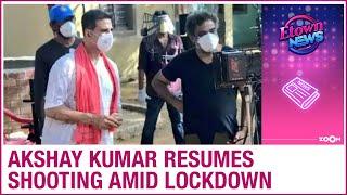 Akshay Kumar RESUMES outdoor shooting amid lockdown with R Balki - ZOOMDEKHO