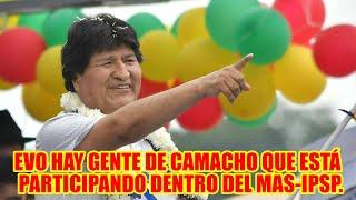 EVO MORALES COMO ES POSIBL3 QUE GENTE DE CAMACHO EST3 PARTICIP4NDO POR EL MAS-IPSP. EN SANTA CRUZ..