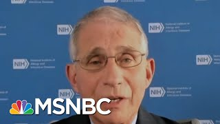 Fauci: Covid-19 Task Force Meetings 'Averaging One A Week' | MTP Daily | MSNBC