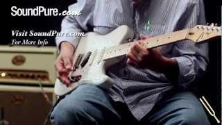 Tom Anderson Short T Classic Translucent White - Electric Guitars Demo
