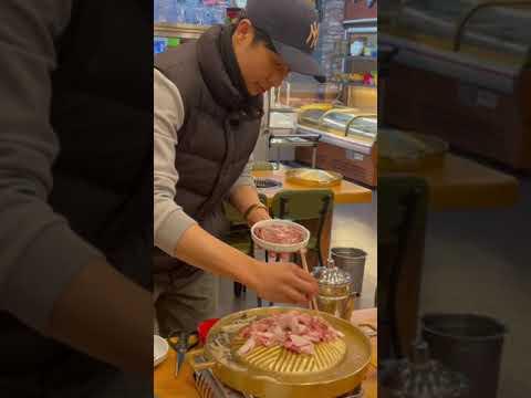 ปิ้งย่างร้านไทยในเกาหลี-ร้านแส