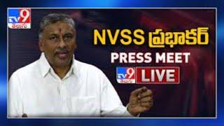 NVSS Prabhakar Press Meet LIVE - TV9 - TV9