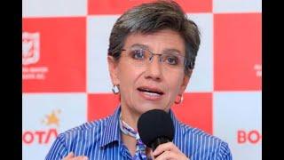 """Tanta belleza no era cierta"": Claudia López sobre empalme tras visita a varias obras en Bogotá"