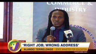 TVJ News: Right Job; Wrong Address - February 2 2020