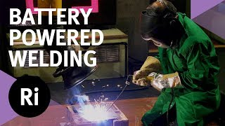 Trying Out Battery Powered Welding - with Saiful Islam