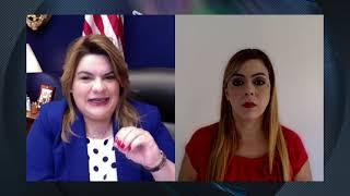 Jenniffer González detalla ayudas para Puerto Rico tras firma de paquete de ayudas por la pandemia