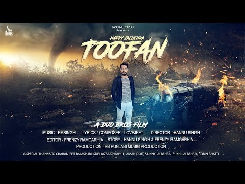 TOOFAN LYRICS - Happy Jalbehra
