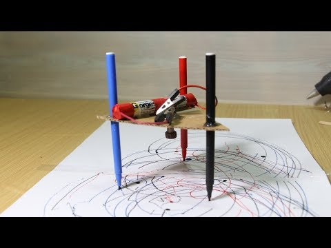 Make Amazing Drawing Machine At Home