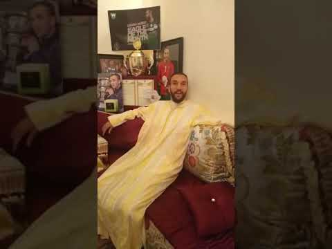 ڤيديو.. زكرياء حدراف يودع جماهير ومكونات الرجاء البيضاوي